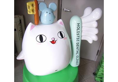 福岡ホリスティックデンタルクリニック様  キャラクター立体物デザイン