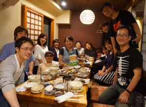 『茶碗蒸しの下釜』で送別会をしました!