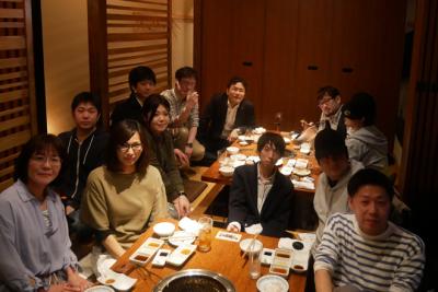 『焼肉慶州 春吉店』で歓迎会を行いました。