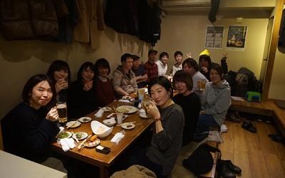 焼鳥居酒屋「こだま家」さんで忘年会を行いました!