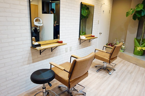 HAIR SALON La' belle内観の雰囲気